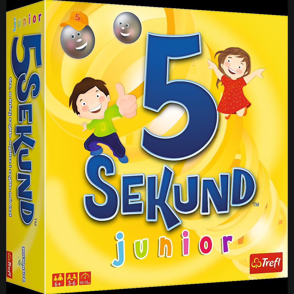 dfde453e613ea 5 sekund junior - hit wśród gier towarzyskich teraz w wersji dla dzieci