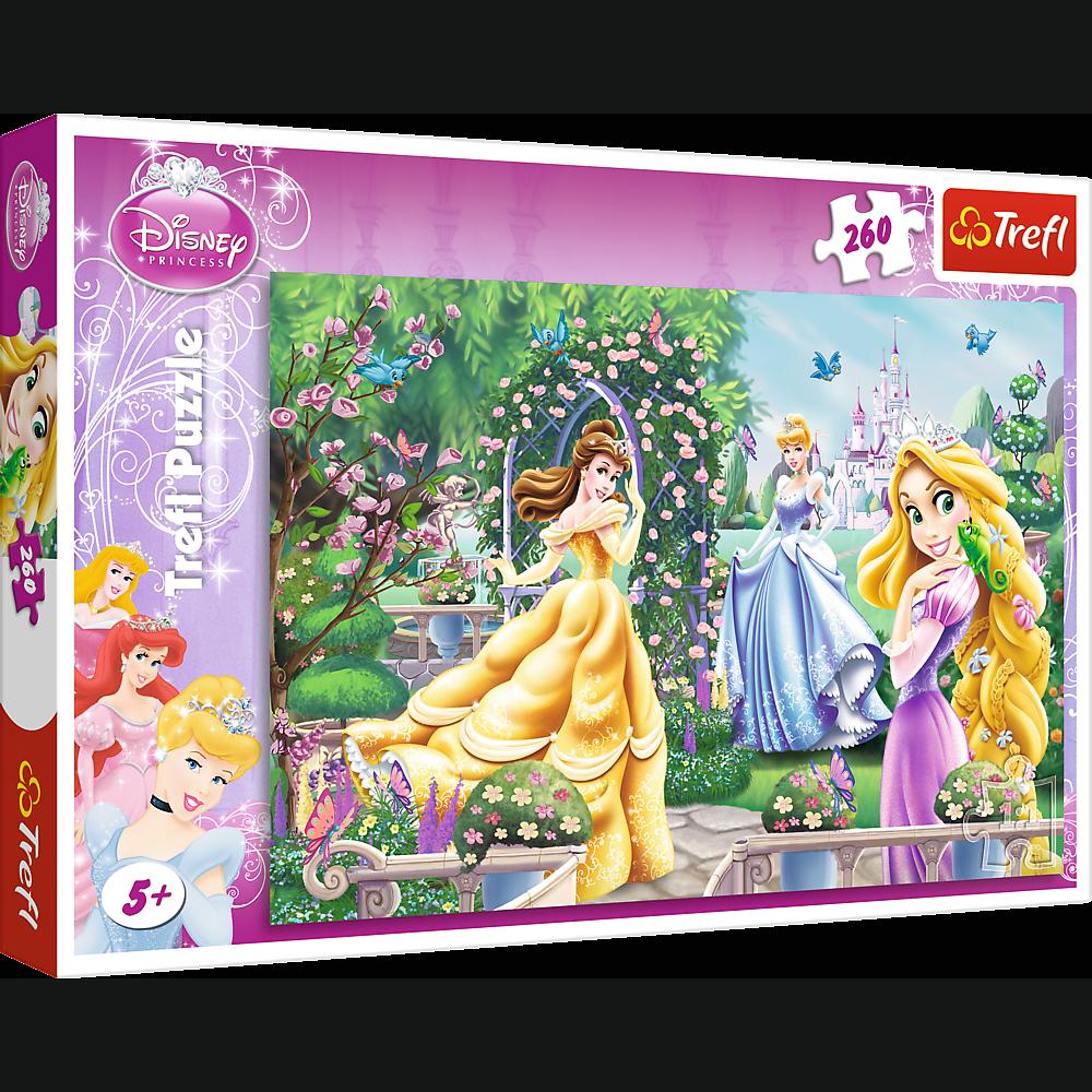 260 pièces puzzle trefl 13141 Disney princesses