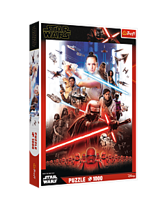 Star Wars - Epizod IX - puzzle 1000 elementów od Trefl