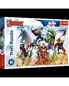 Gotowi by ratować świat, Avengers - puzzle 160 od Trefl