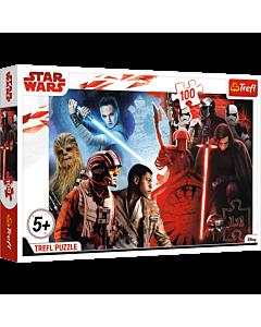 Walka dobra ze złem, Star Wars - puzzle 100 od Trefl