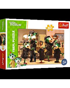 Na tropie - puzzle 60 elementów od Trefl