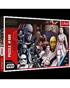 Niech żyje Rebelia! - puzzle 500 elementów Star Wars od Trefl