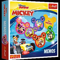 Memos Mickey RR - gra planszowa dla dzieci od Trefl