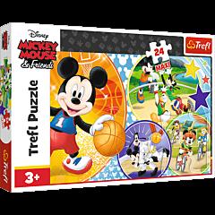 Czas na sport! - puzzle 24 maxi od Trefl