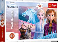 Odwaga sióstr - puzzle 30 elementów Frozen 2 od Trefl