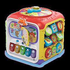 VTech Kostka Aktywności - zabawka edukacyjna dla dzieci - zdjęcie 1