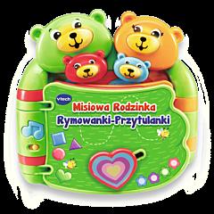 VTech - Misiowa Rodzinka. Rymowanki-Przytulanki