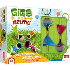 Trefl Active - Giga Rzutki - zabawka outdoorowa od Trefl