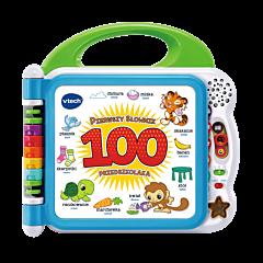 VTech - Pierwszy słownik przedszkolaka - elektroniczna zabawka edukacyjna dla dzieci od Trefl