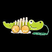 Krokodylek Do Ciągnięcia