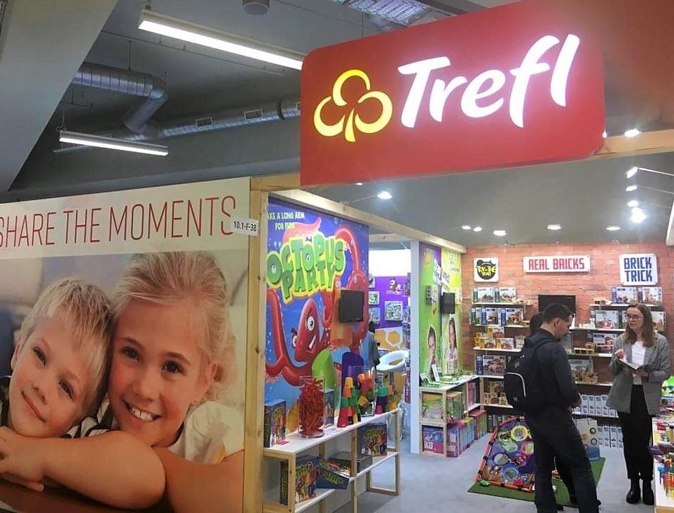 Trefl na targach Spielwarenmesse 2019 w Norymberdze