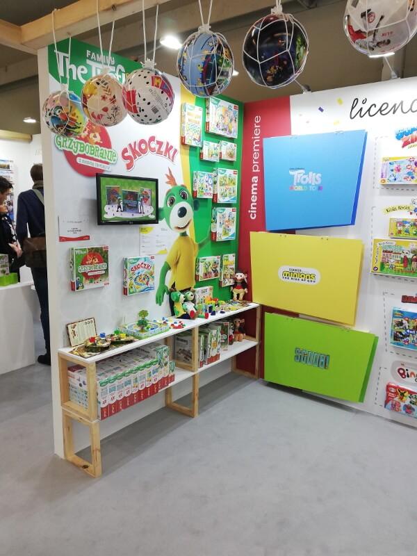 Trefl na targach Spielwarenmesse w Norymberdze